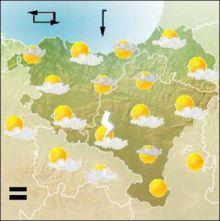imagen: Información meteorolóxica sobre o estado do mar